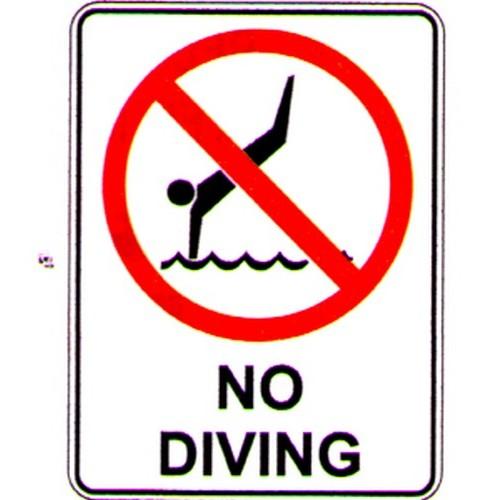 No-Diving-Sign