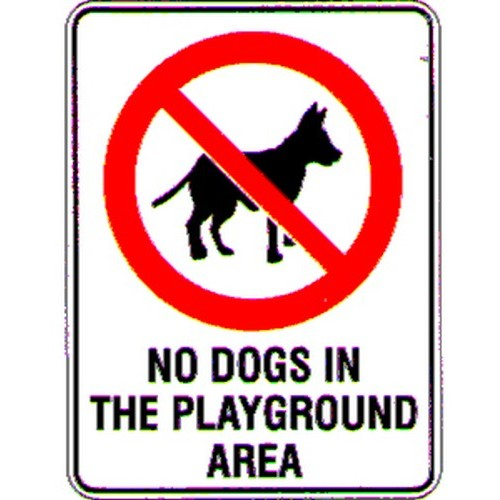 No-Dogs-In-The-PG-Area-Sign