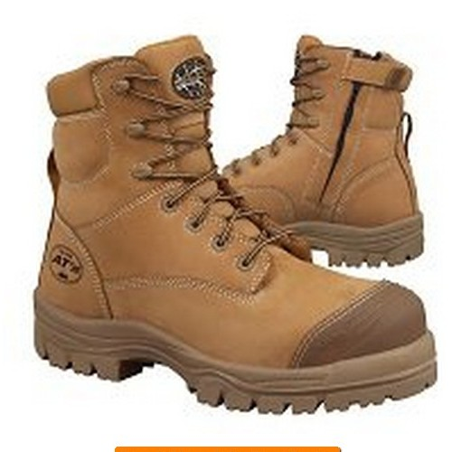 39f3811fdb6 45-632Z. 150mm Zip Side Composite Toe Cap Lace Up Safety Boots.