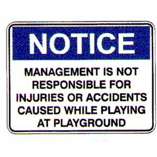 Notice Management Is Not Sign