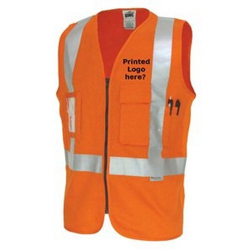 Orange Cotton Vest