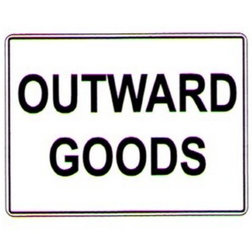 Outwards-Goods-Sign