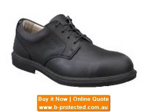 Lace Up Leather Safety Shoe