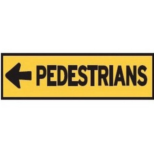 Pedestrians Left Multi Message