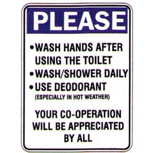 Please WashApprec By All Sign