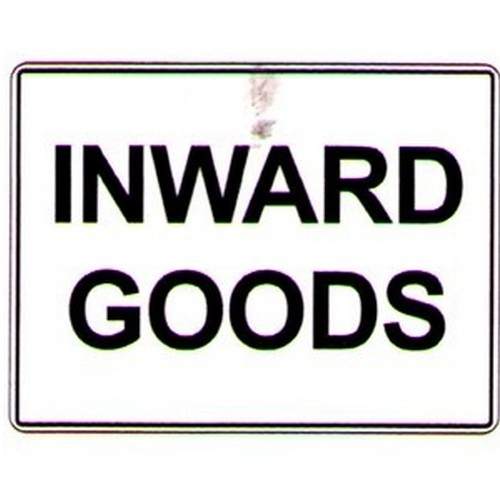 Inward Goods Sign