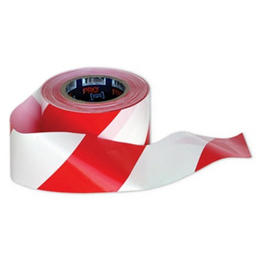 Red White Hazard Tape