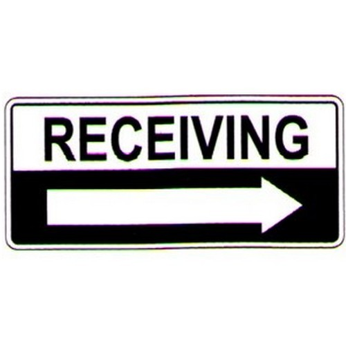 Receiving Right Arrow Sign