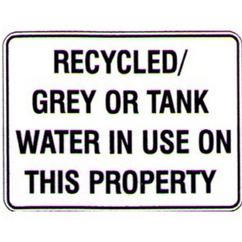 Recycled Grey Water
