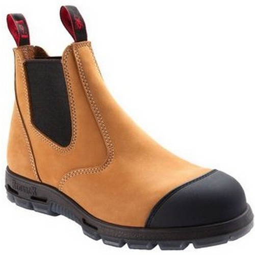 Redback Wheat Safety Boots
