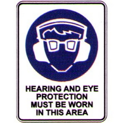Reflective-Hearing-Eye-Prot-Area-Sign