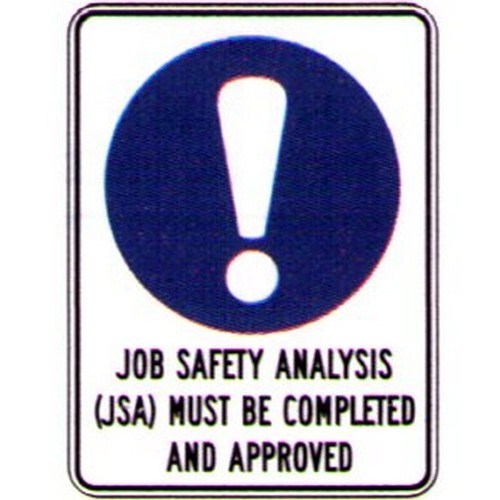 Reflective-Job-Safety-Anal-Approved-Sign