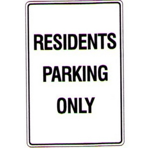 Residents-Parking-Only-Sign