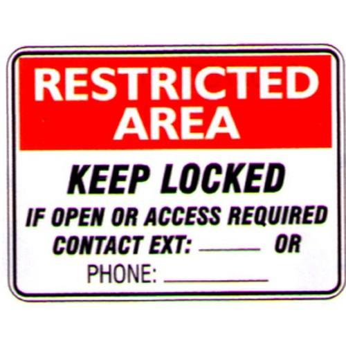 Rest-Area-Keep-Locked-Sign