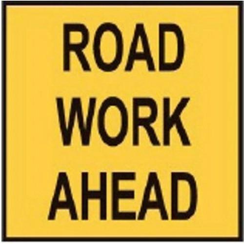 Road Work Ahead Multi Message