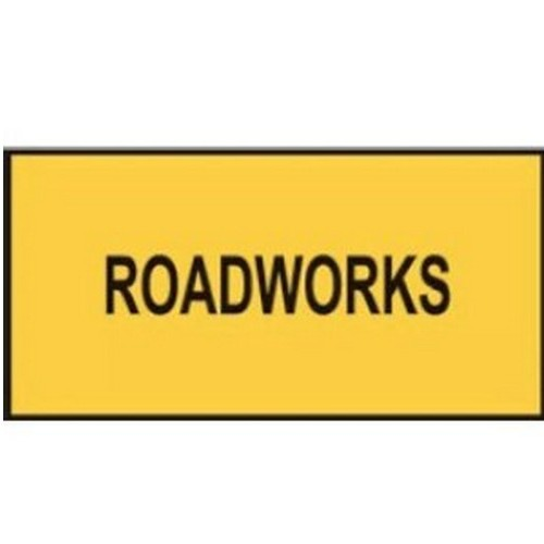 Roadworks-Multi-Message-Sign