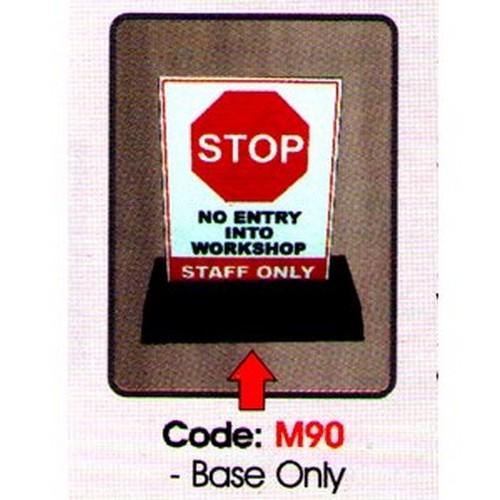 Rubber Sign Base