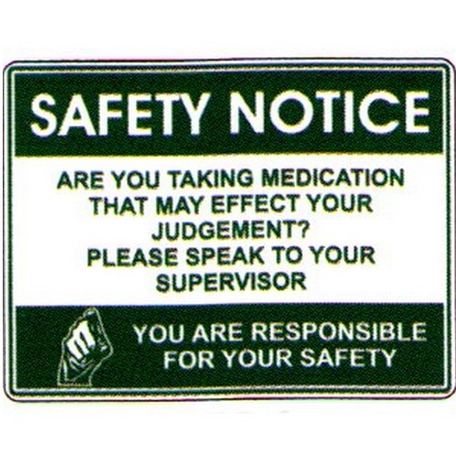Safety Notice Are You Sign