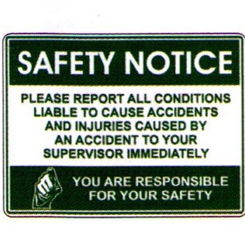 Safety Notice Please Report Labels