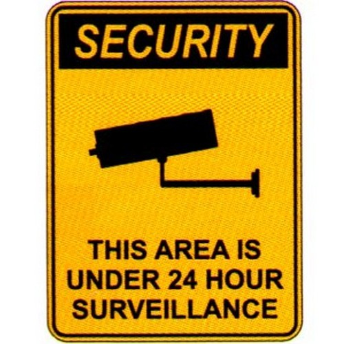 Security Camera This Area Sign