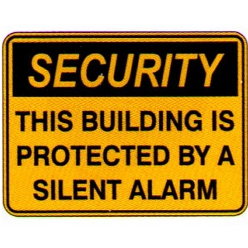Security This Building Is Sign