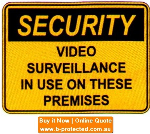 Security Video  Labels