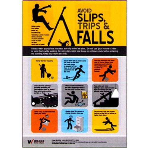 Slips Trips Falls Poster