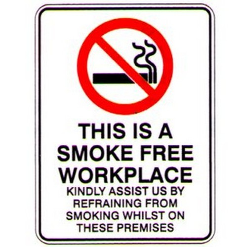 SMOKE Free THESE Premises Sign