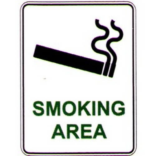 Smoking Area With Symbol Sign