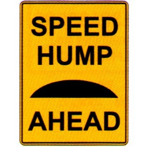 Speed-Hump-Ahead-Sign