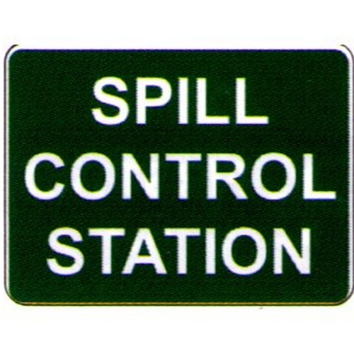 Spill Control StationSign