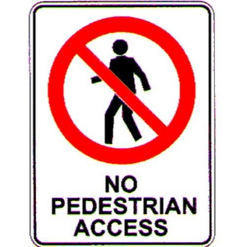 No-Pedestrian-Access-Sign
