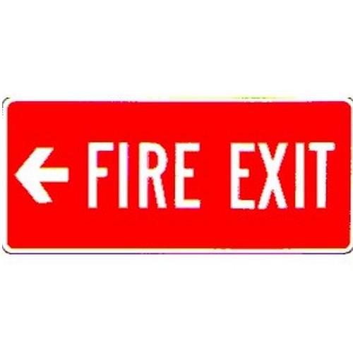 Stick Fire Exit Left Arrow Label