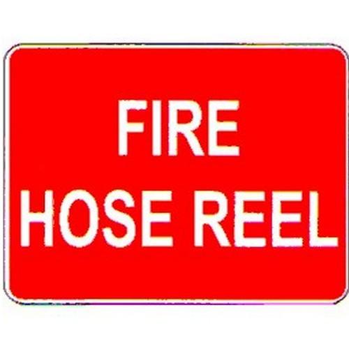 Stick Fire Hose Reel Label