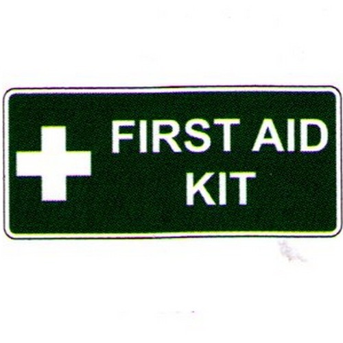 Stick First Aid Kit Label