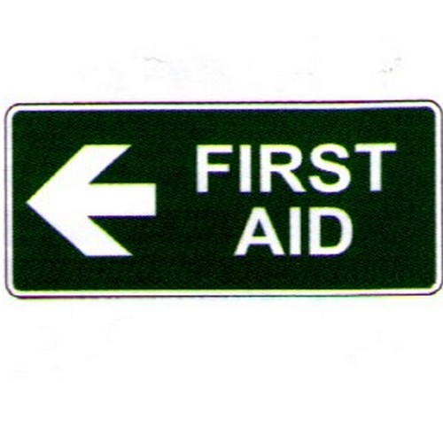 Stick First Aid Left Arrow Label