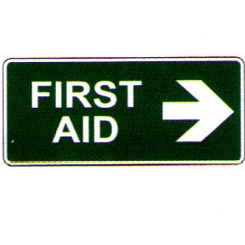 Stick First Aid Right Arrow Label