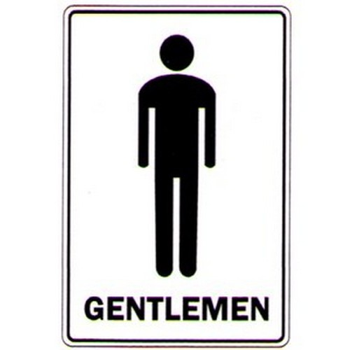 Stick Gentlemen Symbol Label
