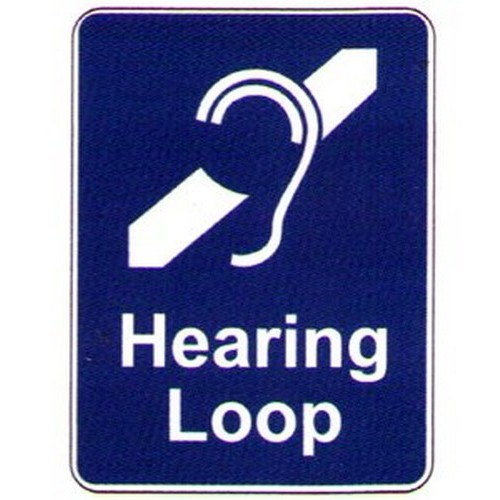 Stick Hearing Loop Label