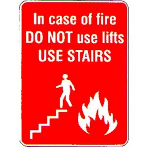 Stick In Case Of Fire Do Not Label