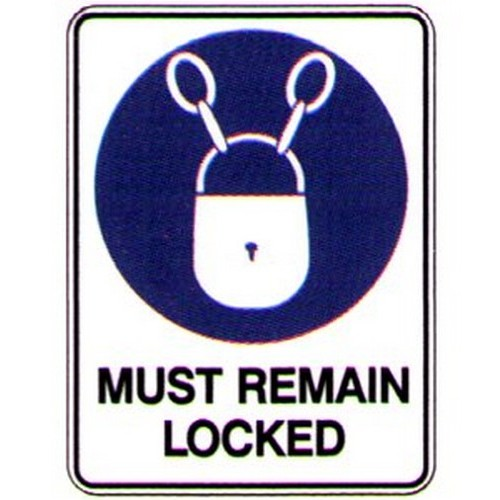 Stick-Must-Remain-Locked-Label