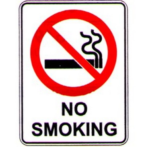 Stick No Smoking Label