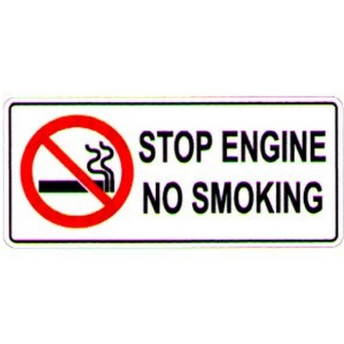 Stop Engine Sign