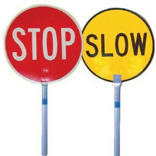 Stop-Slow-Bat-450mm-Ali-Handle