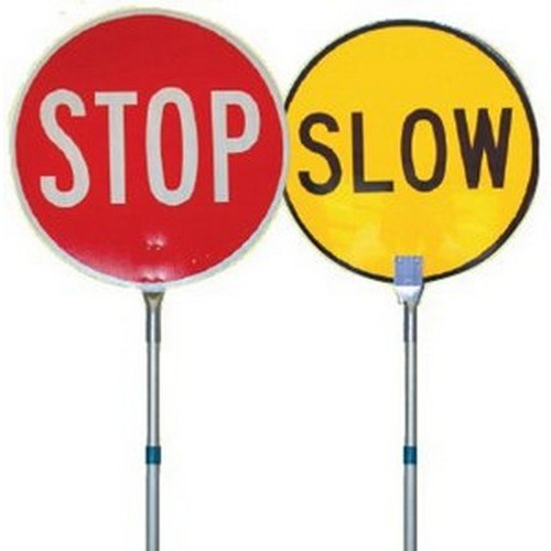 Stop-Slow-Bat-450mm-Telescopic