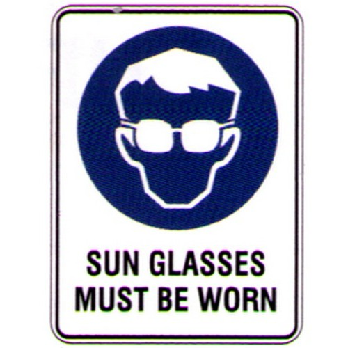Sun-Glasses-Must-Be-Worn-Sign