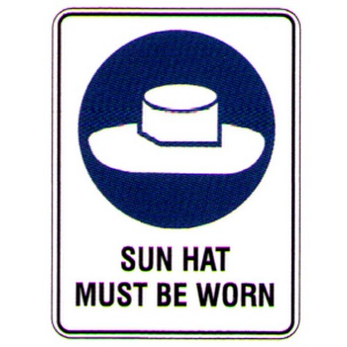 Sun-Hat-Must-Be-Worn-Sign