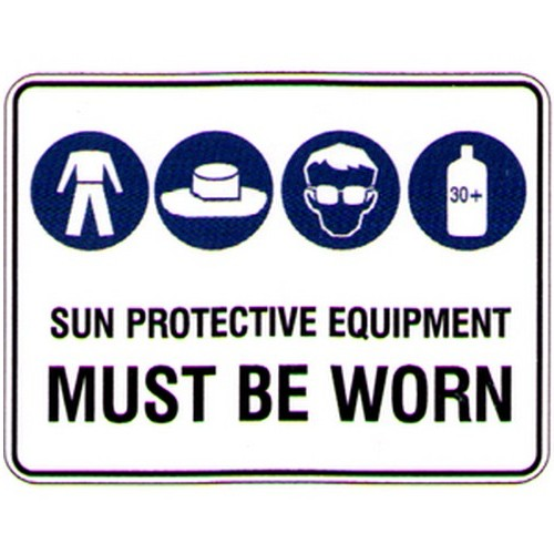Sun-Protection-Must-Be-worn-Sign