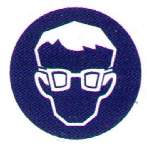 Symbol-Eye-Protection-Label