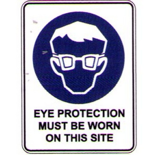 Symbol Eye ProtOn This Site Sign